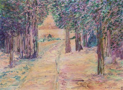Carl Rudolph Krafft, (American, 1884-1938), Forest Path