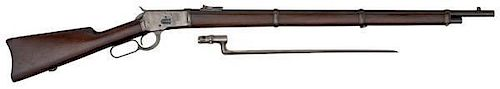 Winchester Model 1892 Musket with Bayonet