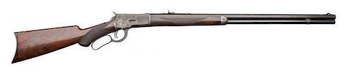An Early Winchester Deluxe Model 1892 Lever-Action Rifle