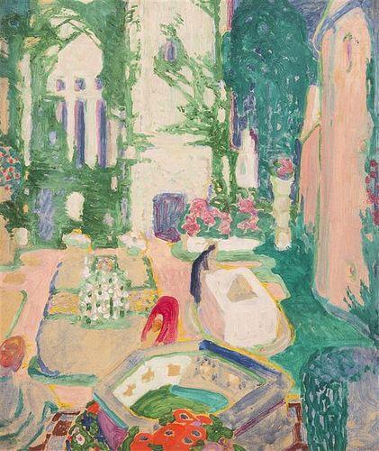 Henry McCarter, (American, 1886-1942), Steichens Garden