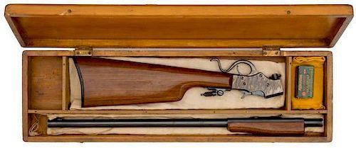 **Cased Stevens Favorite Model 19 Rifle