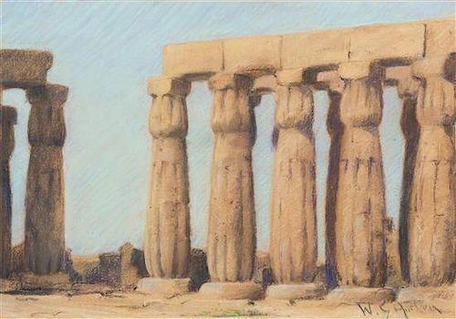 William Samuel Horton, (American, 1865-1936), Temple Ruins