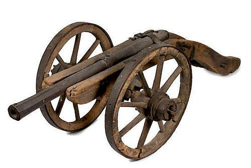 Early Cannon on a Field Carriage