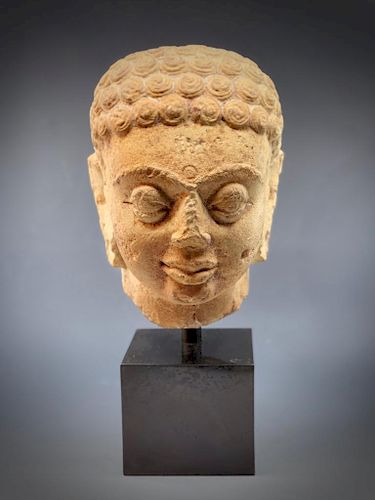 Kushan Buddha Head