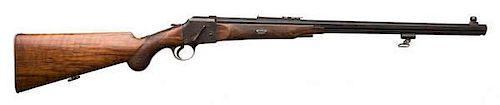 Westley-Richards Fields Patent Falling Block Single-Shot Rifle