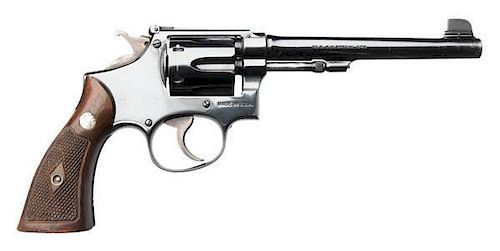 **Smith and Wesson Military & Police Model of 1905 4th Change DA Revolver