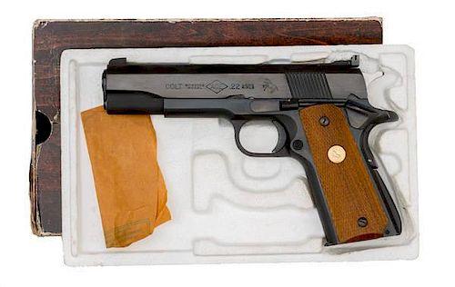**Colt Service Model Ace Pistol