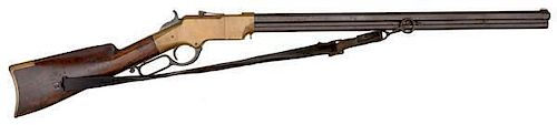 Important Civil War Factory Inscribed Henry Rifle