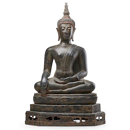 NORTHERN THAI BRONZE BUDDHA