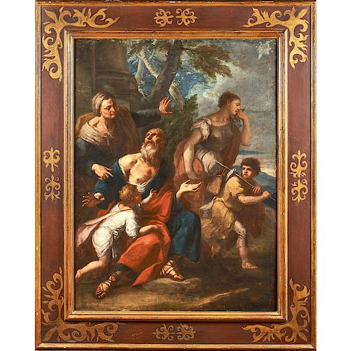 19TH C. OLD MASTER PAINTING