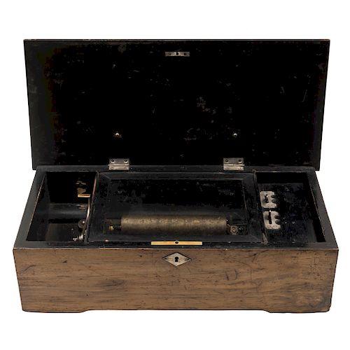 A MUSIC BOX. U.S.A., 19TH CENTURY.