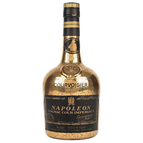 Courvoisier. Cognac Cour Imperiale. Francia. De los años 60's