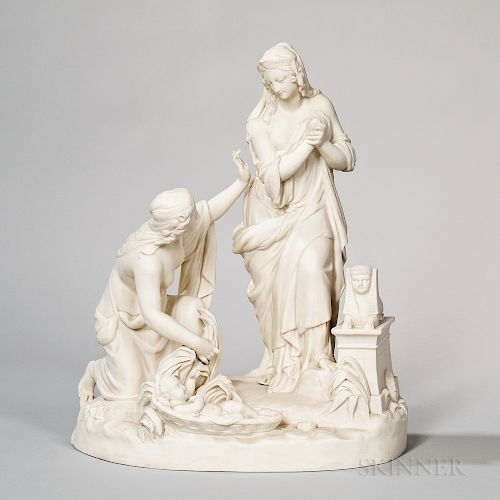 Wedgwood Carrara Group The Finding of Moses
