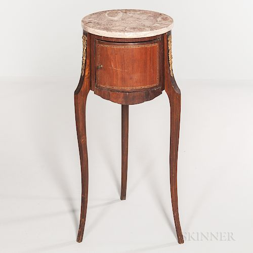 Louis XV-style Marble-top Stand