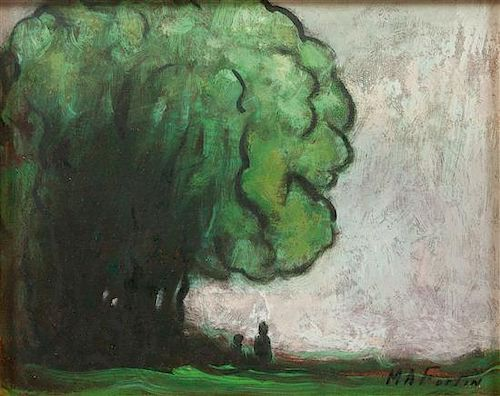 * Marc-Aurele Fortin, (Canadian, 1888-1970), Study of a Tree