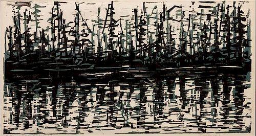 Werner Drewes, (German-American, 1899-1985), Reflections