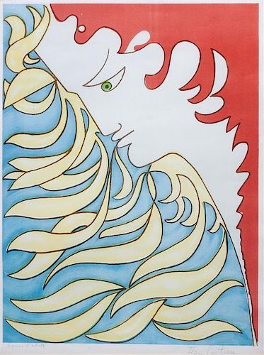 Jean Cocteau, (French, 1889-1963), Orpheus, 1952