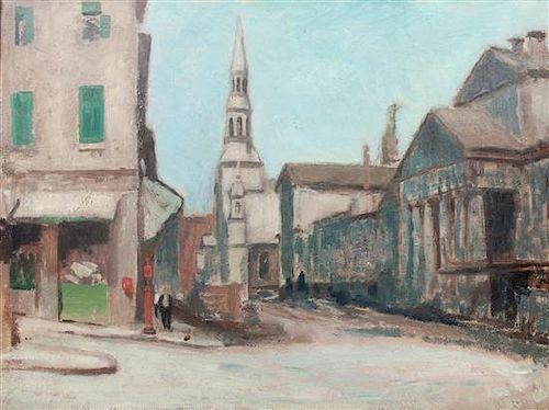 * Ernst Neumann, (Canadian, 1907-1956), St. Paul Corner, Claude Street
