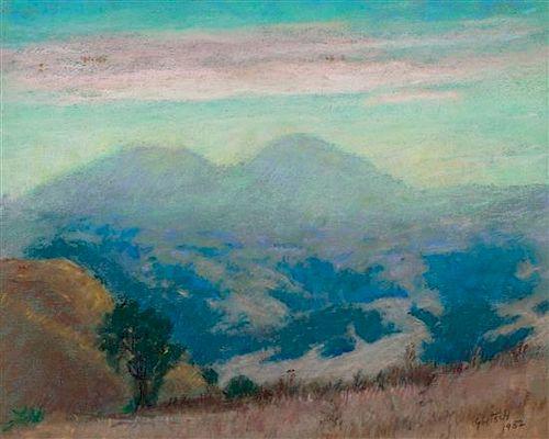 * Gustav Goetsch, (American, 1877-1969), Atmosphere, 1952