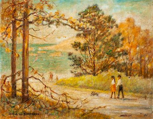 * Hazel Goetsch, (American, 1892-1984), Path to the Beach, Carmel