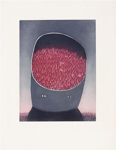 Jean-Michel Folon, (Belgian, 1934-2005), Un Matin, 1979