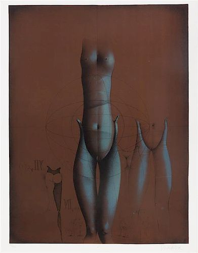 Paul Wunderlich, (German, 1927-2010), Figural Work