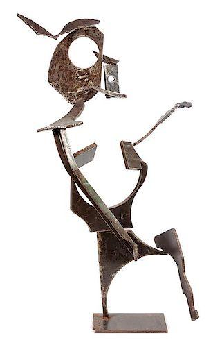 Jeff Whyman, (American, 20th century), Untitled (figure), 1988