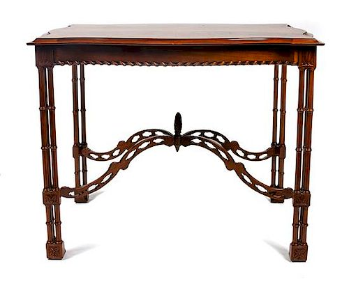 An American Console Table Height 30 x width 39 x depth 27 ...
