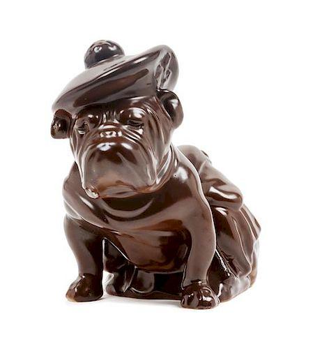 * A Royal Doulton Bulldog Height 7 1/4 inches.