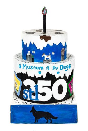 * A St. Louis 250th Anniversary Cake Height 53 inches.