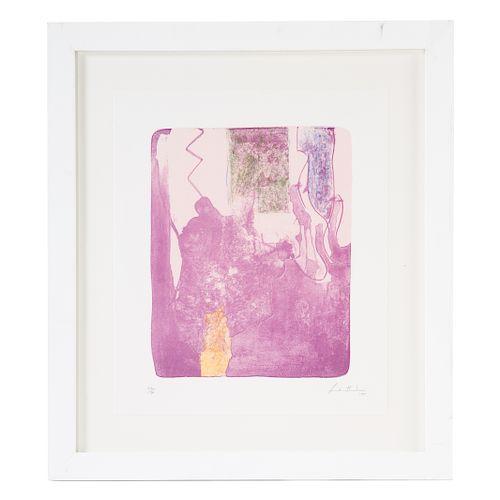 """Helen Frankenthaler. """"Reflections X"""""""