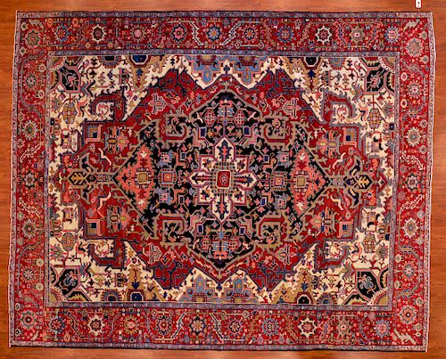 Antique Serapi Carpet, approx. 9.9 x 12.1