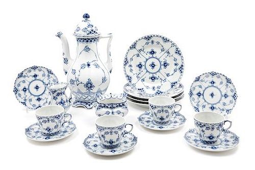 4356083abaab A Royal Copenhagen Porcelain Coffee Service Height of coffee pot 11 ...