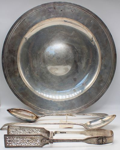 SILVER. Sterling and Continental Silver Grouping.