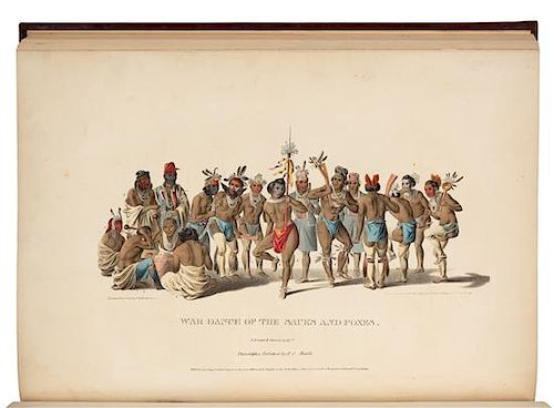McKENNEY, Thomas L. (1785-1859) -- HALL, James (1793-1868). History of the Indian Tribes of North America. Philadelphia: 1836, 1