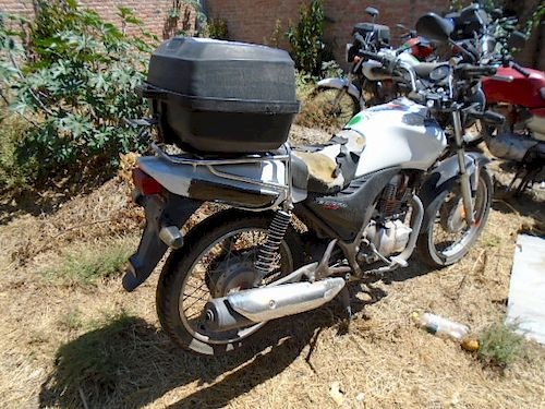 Motocicleta Honda Cargo 150 2014