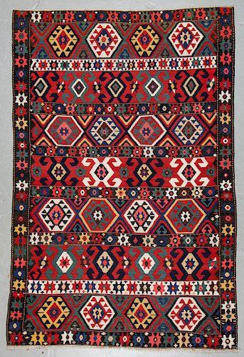 Fine Shahsavan Kilim, Trans-Caucasus, 19th C.