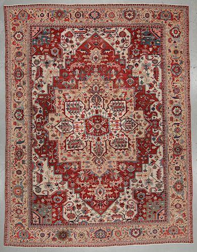 Antique Serapi Rug, Persia: 16'1'' x 21'1''