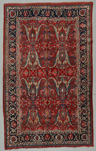 Antique Bidjar Garrus Rug, Persia: 7'3'' x 11'10''