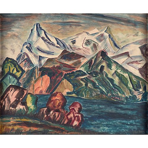 Joseph Meierhans (American/Swiss, 1890–1981)
