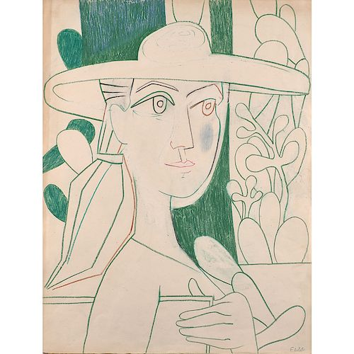Françoise Gilot (French, b. 1921)