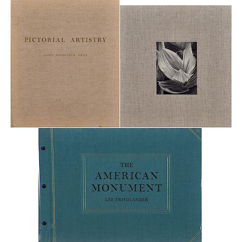 Three Photography Books