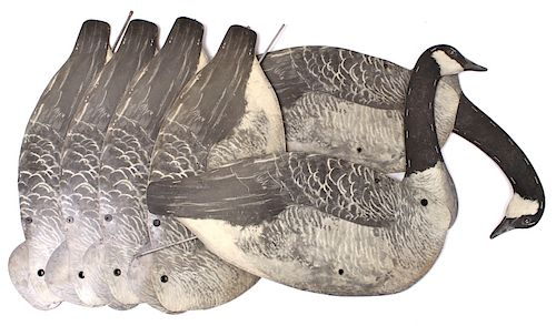 Cary-Lite Stake Folding Goose Decoys by North American Auction