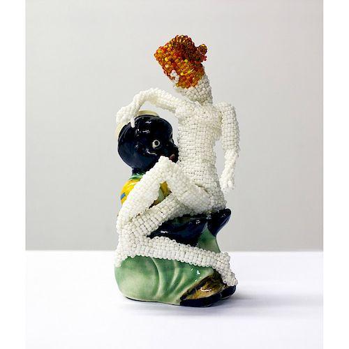 JOYCE J. SCOTT Sculpture, Still Funny series