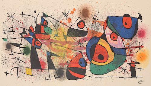 "Joan Miro ""Ceramiques"" Lithograph"