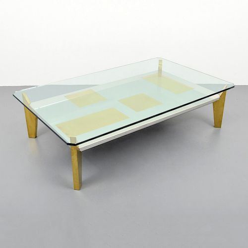 Large Coffee Table, Manner of Willy Rizzo