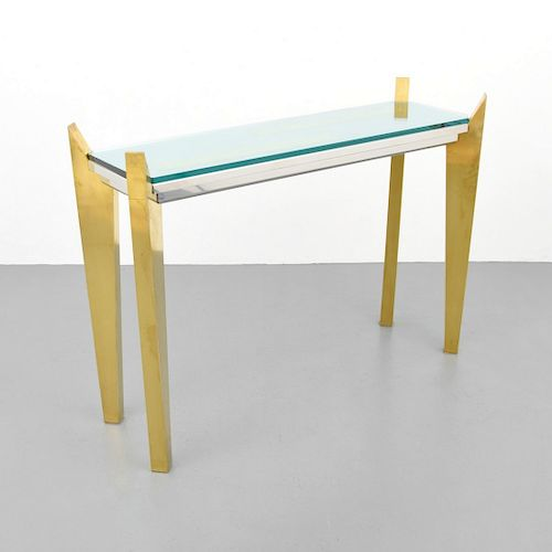 Console Table, Manner of Willy Rizzo