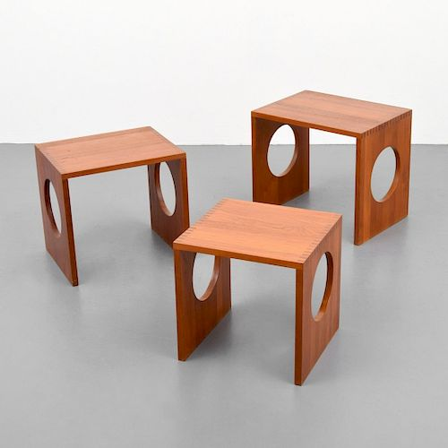 Jens Quistgaard Nesting Tables, Set of 3