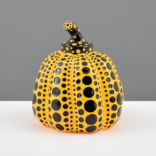 """Yayoi Kusama """"Pumpkin"""" Sculpture"""