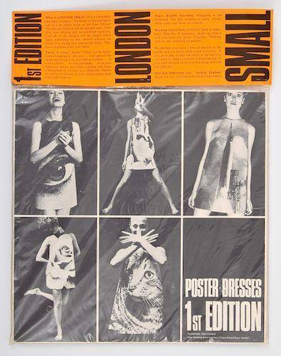 Allen Ginsberg & Marc Leonard Poster Dress, 1st Edition